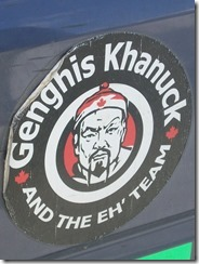 Genghis Khanuck and the Eh Team