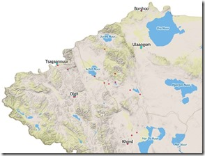 Western_Provinces_of_Mongolia_with_GPS_Lakes